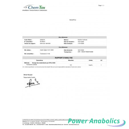 Trenbolone-A 100mg Lab Test Steroids Shop UK Pay by PayPal Card, Credit/Debit Card